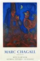 Marc Chagall: BONJOUR PARIS, 1972