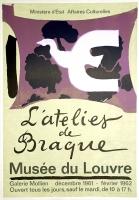 Georges Braque: Musée du Louvre, 1961