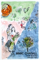 Marc Chagall: Chicago, 1974