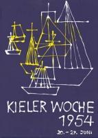 Achim Bargatzki: Kieler Woche 1954