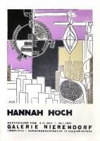 Hannah Höch: Galerie Nierendorf, 1965