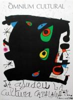 Joan Miró: Òmnium Cultura, 1974
