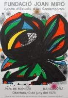 Joan Miró: Fundació Miró, 1975