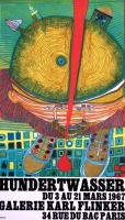 Friedensreich Hundertwasser: Galerie Flinker, 1967