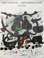 Joan Miró: Arras Gallery, 1972