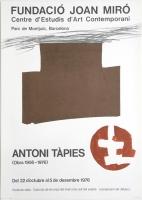Antoni Tàpies: Fundacio Miró, 1976