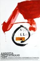 Antoni Tàpies: Amnistia Drets Humans, 1976