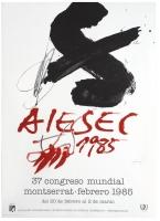 Antoni Tàpies: AIESEC, 1985