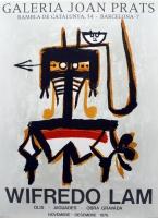 Wifredo Lam: Galerie Joan Prats, 1976