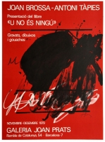 Antoni Tàpies: Galerie Joan Prats, 1979
