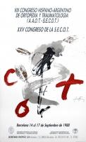 Antoni Tàpies: XXV Congreso de la S.E.C.O.T., 1988