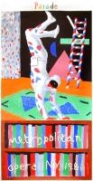 David Hockney: Parade - Metropolitan Opera, 1981