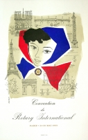 Jean Colin: Convention du Rotary International, 1953