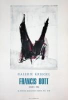 Francis Bott: Galerie Kriegel, 1962