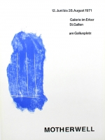 Robert Motherwell: Erker Galerie, 1971