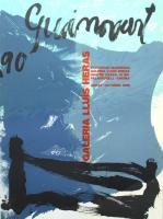 Josep Guinovart: Galerie Lluis Heras, 1990