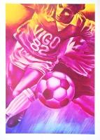 Jacques Monory: COPA DEL MUNDO DE FUTBOL - ESPANA, 1982