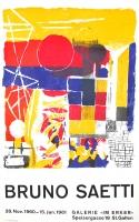 Bruno Saetti: Galerie im Erker, 1961