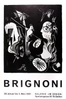 Serge Brignoni: Galerie im Erker, 1961