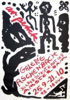 A.R. Penck: Galerie Aschenbach, 1989