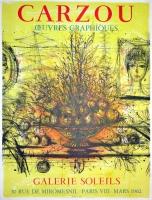 Jean Carzou: Galerie Soleils, 1962
