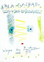 Pablo Picasso: Sala Gaspar, 1961 (1)