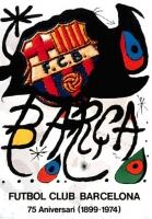 Joan Miró: Barca FC Barcelona, 1974