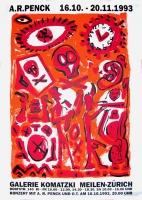 A.R. Penck: Galerie Komatzki, Meilen-Zürich, 1993
