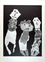 Jean Dubuffet: La Fleur de Barbe, 1959