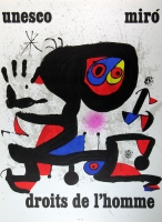 Joan Miró: UNESCO, 1974