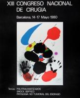 Joan Miró: Congreso di Cirugia, 1980