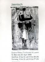Hans Jaenisch: Galerie Räber, 1965