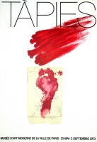 Antoni Tàpies: Musée dArt Moderne, 1973