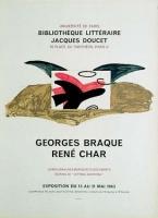 Georges Braque: Bibliothèque Jacques Doucet 1963