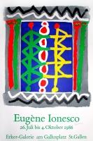 Eugène Ionesco: Erker Galerie, 1986