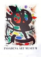 Joan Miró: Passadena Art Museum, 1969