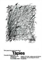 Antoni Tàpies: Kasseler Kunstverein, 1969