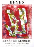 Camille Bryen: Musée de Nemours, 1976