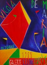 Nicola De Maria: Galerie Lelong, 1988