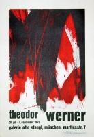 Theodor Werner: Galerie Stangl, 1961