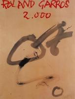 Antoni Tàpies: Roland Garros, 2000