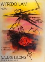 Wifredo Lam: Galerie Lelong, 1988