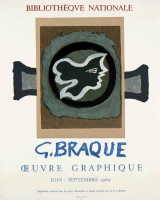Georges Braque: Bibliotheque National, 1960