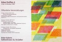 Piero Dorazio: Erker-Treffen 4, 1987