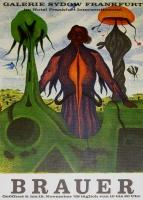 Arik Brauer: Galerie Sydow, 1968