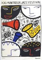 Francois Boisrond: Montreux Jazz Festival, 1987