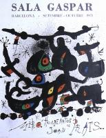 Joan Miró: Sala Gaspar, 1971