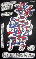 Jean Dubuffet: Fondation Maeght, 1967