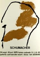 Emil Schumacher: Galerie van der Voort, 1975
