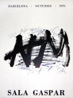 Antoni Tàpies: Sala Gaspar, 1970